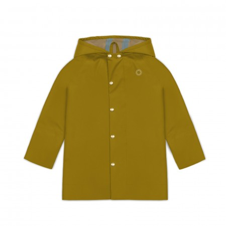 Faire Child Rain Coat Midi Goldenrod (Outdoor clothing)