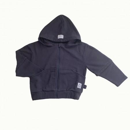 Little Borne Hoodie Indigo Blue (Sweaters)
