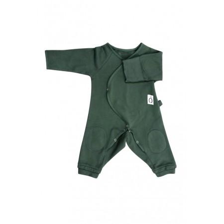 Little Borne Lounger Canvas Green (Slippers)