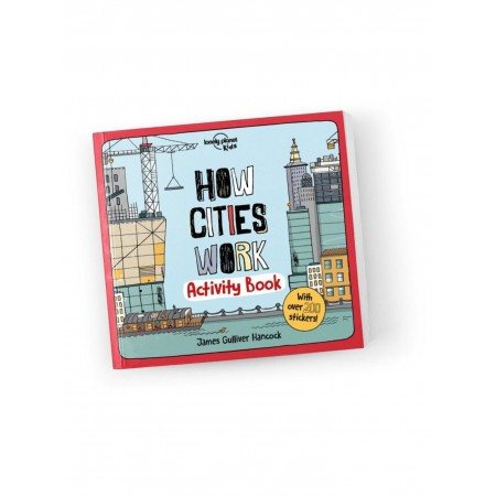 Lonely Planet Kids, How Cities Work, Activity book (Books)
