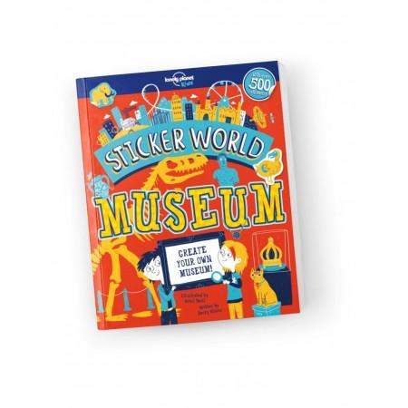 Lonely Planet Kids, Sticker World - Museum (Books)