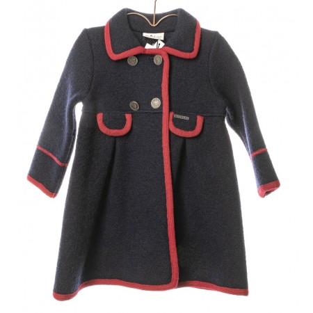 Marae Jacket - Navy/Red