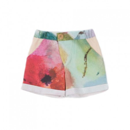 MimOOkids Close-Me Shorts, Garden Colours 2-3y (Shorts)
