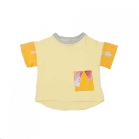 MimOOkids Oversize Shirt, Vainilla & Colibri 2-3y (Shirts)