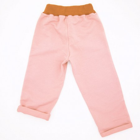 Mimookids Pull-Me-Up Pant, Rose/Cinnamon (Pants / Leggins)