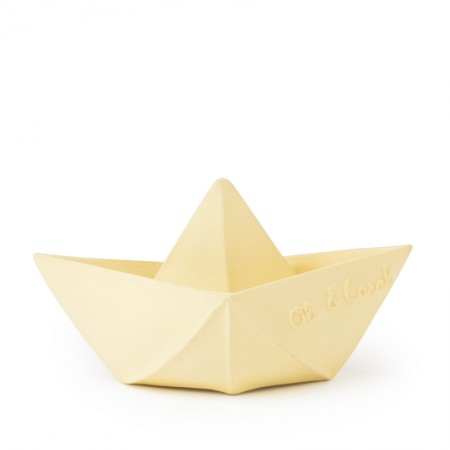 Oli&Carol Origami Boat Vanilla (Teethers)