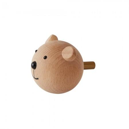 OYOY Mini Hook - Bear (Hooks)
