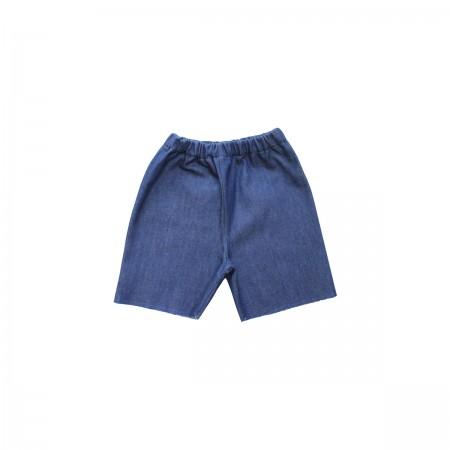 Pippins Denim Board Shorts Colour: Blue, Size: 5-6Y (Shorts)