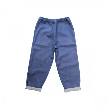 Pippins Denim Jeans (With Pocket) Colour: Blue, Size: 5-6Y (Pants)