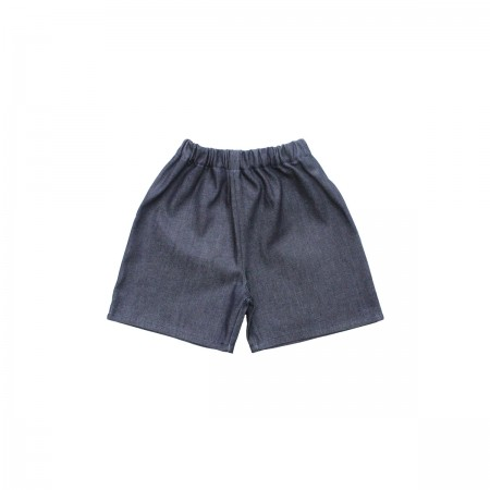 Pippins Denim Shorts Colour: Indigo, Size: 1-2Y (Shorts)