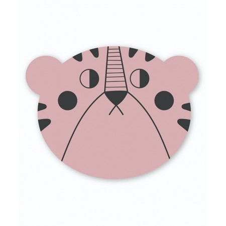 StudioLoco Placemat Pink Leopard (Silicon mats)
