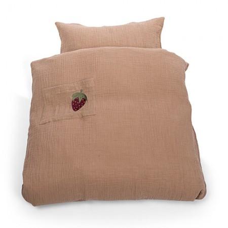 That s Mine Bedding strawberry muslin junior (Bedding)