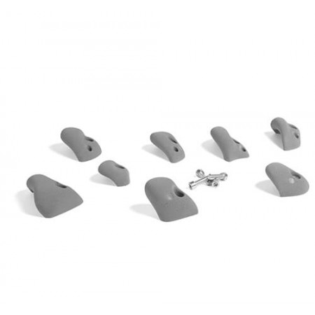 That s Mine Climbing rock set of 8 large concrete/brick, Grey (Room accessories)