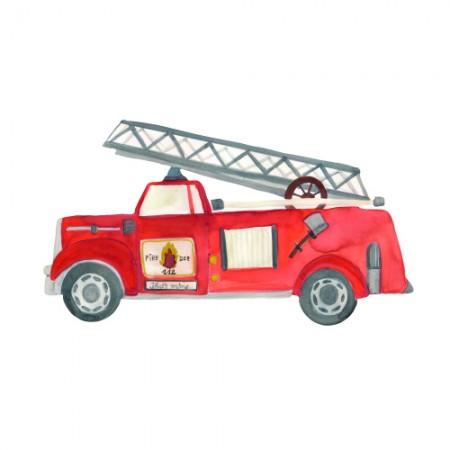 That s Mine Wall Sticker Fire Truck (Novelties)