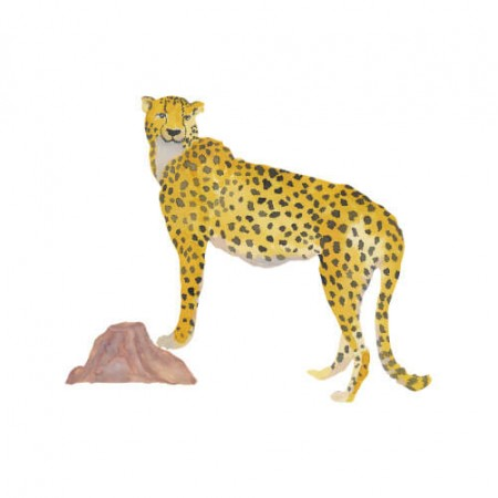 That s Mine Wall sticker Cheetah (Wall stickers)