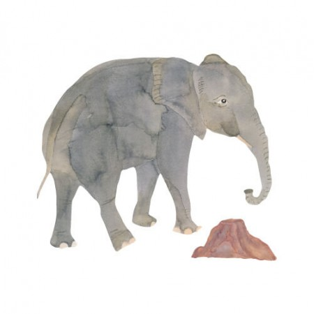 That s Mine Wall sticker Elephant (Wall stickers)