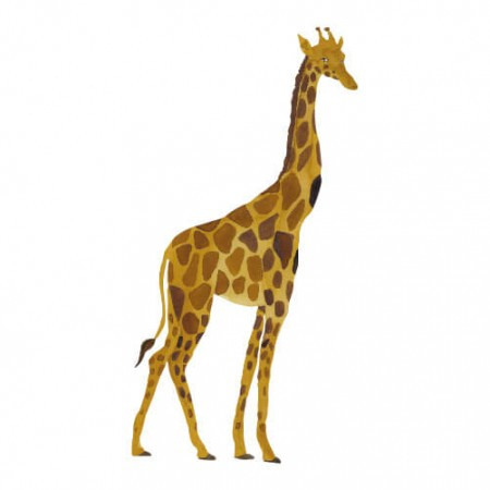 That s Mine Wall sticker Giraffe (Wall stickers)