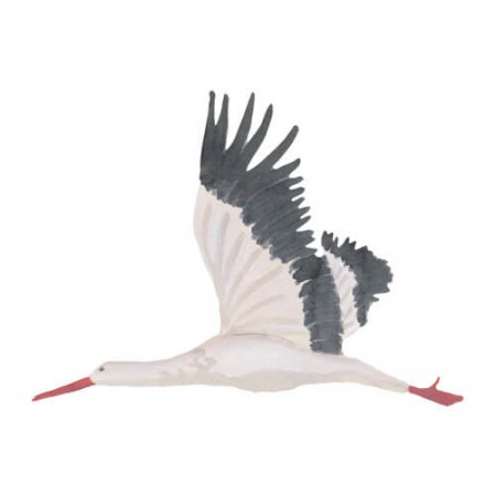That s Mine Wall sticker Stork Large (Wall stickers)