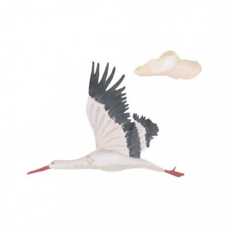 That s Mine Wall sticker Stork Small (Wall stickers)