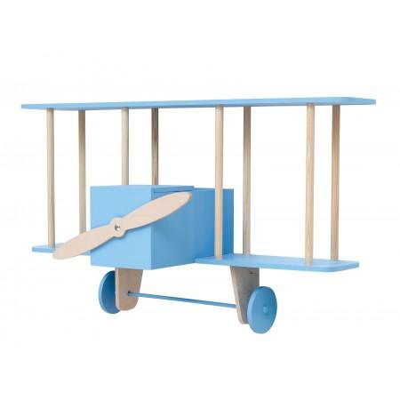 "up! Warsaw Biplane shelf ""Dashy"" blue (Shelves)"