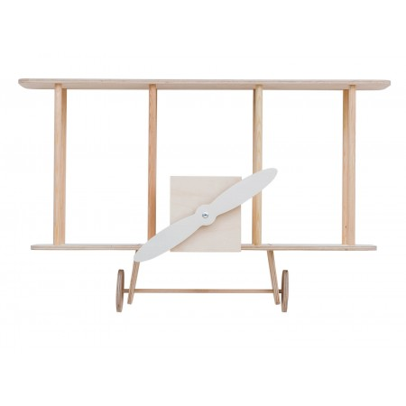 "up! Warsaw Biplane shelf ""Dashy"" wooden (Furniture)"