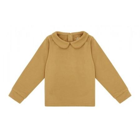 Vild LS Shirt, Camel Collared 4-5y (Shirts)